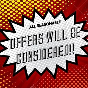 All REASONABLE Offers Considered!!